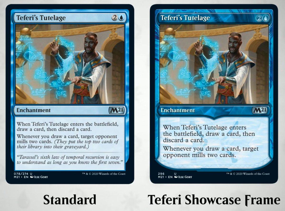 MTG Core 2021 Showcase Framed Cards