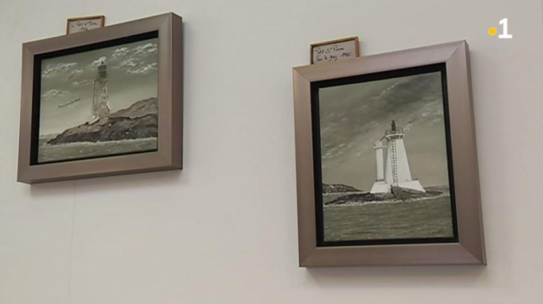 Une exposition de peinture sur les phares de Saint-Pierre et Miquelon à la bibliothèque municipale  ▶️https://t.co/TF6Y1AQqxG https://t.co/b9hrxFHsvE