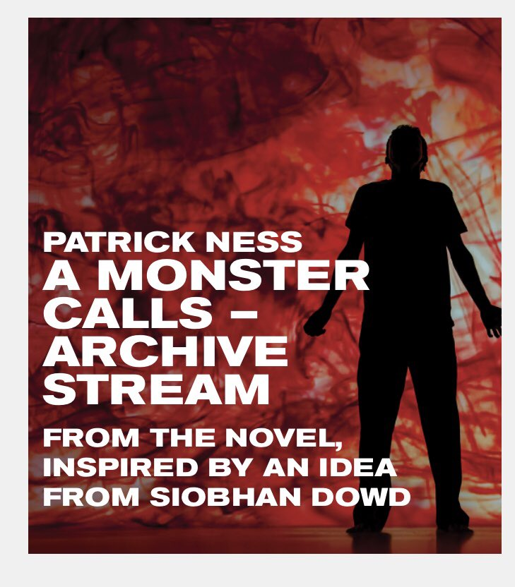 Looking forward to this... 7pm tonight. YouTube. @oldvictheatre #patrickness #AMonsterCalls https://t.co/A0tImxEVfQ