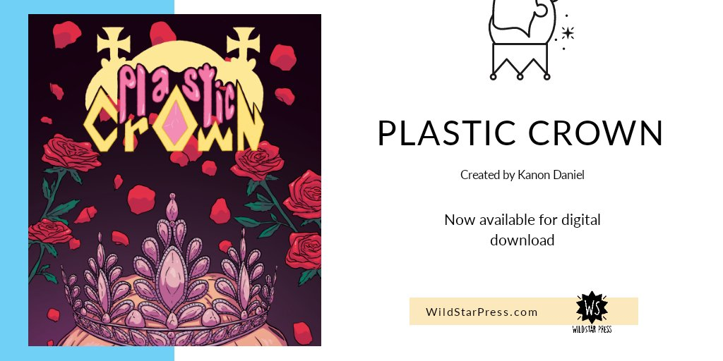 Don't forget that Plastic Crown by @vkdaniel20 is out now!  Currently, only for digital purchase.   https://t.co/ypBCAEvCpN https://t.co/OU18cCcNMD