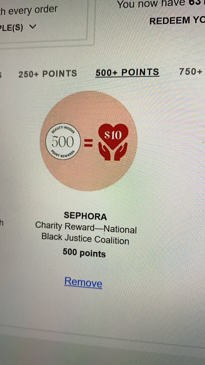 test Twitter Media - Friends who have points at Sephora and nothing to buy, you can donate them! ☮️🙌🏼💜 https://t.co/L98JafDZu2