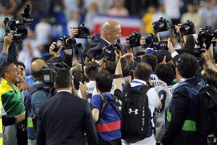 LaLiga sólo permitirá entrar a ocho fotógrafos (Foto: EFE).