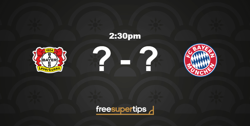 Bayer Leverkusen v Bayern Munich predictions! 🌟 4/6 Best Bet 🔢 10/1 Correct Score BET HERE ▶ freesupertips.com/predictions/ba… (18+ begambleaware.org)