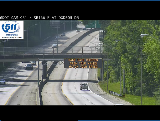 Image posted in Tweet made by 511 - A Service of Georgia DOT on June 5, 2020, 4:00 pm UTC