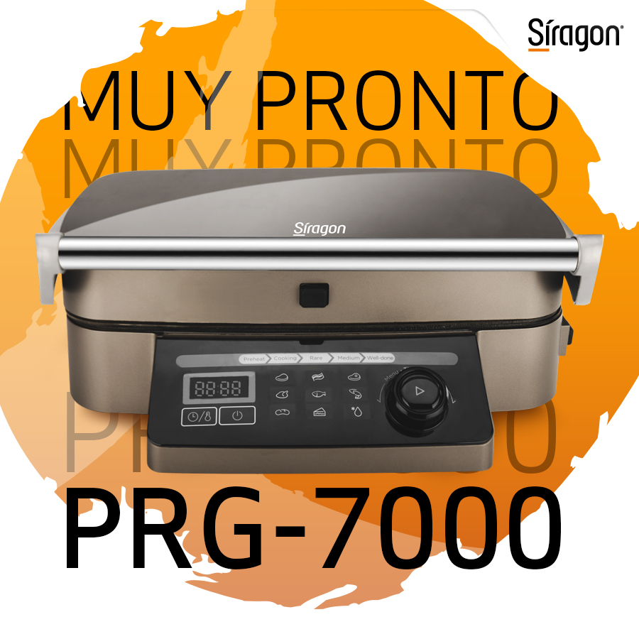 La nueva Plancha Grill Multifuncional Siragon PRG-7000 te permitirá cocinar con dos placas de rápido calentamiento (6 minutos) con bandeja de goteo y plato extraíbles de fácil limpieza.   MUY PRONTO  estará disponible en @ivoovenezuela  #EstiloDeVidaSiragon #5Jun https://t.co/YJokvKbd2N