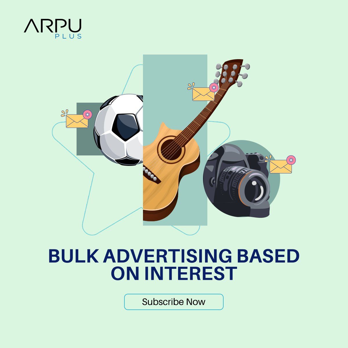 Plan for Bulk SMS campaign and only reach the right people.  Our bulk advertising based on interest is used to send your Ads to specific audiences based on who they are and their interests.  Subscribe now: https://t.co/YFCPMFKTeU  #ArpuPlus #MobileAdvertising https://t.co/ZBV0BsTHPN