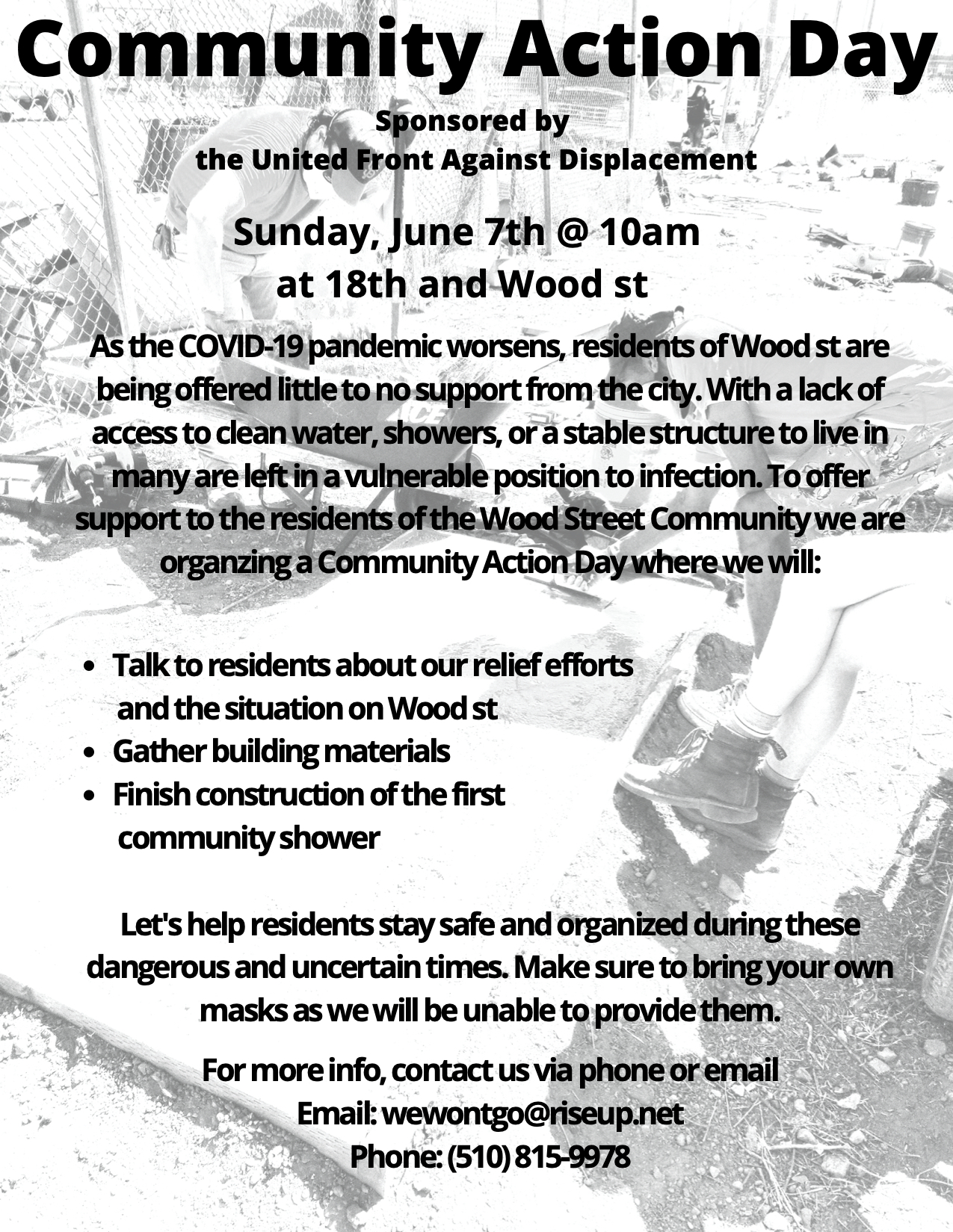Community Action Day - Wood St.