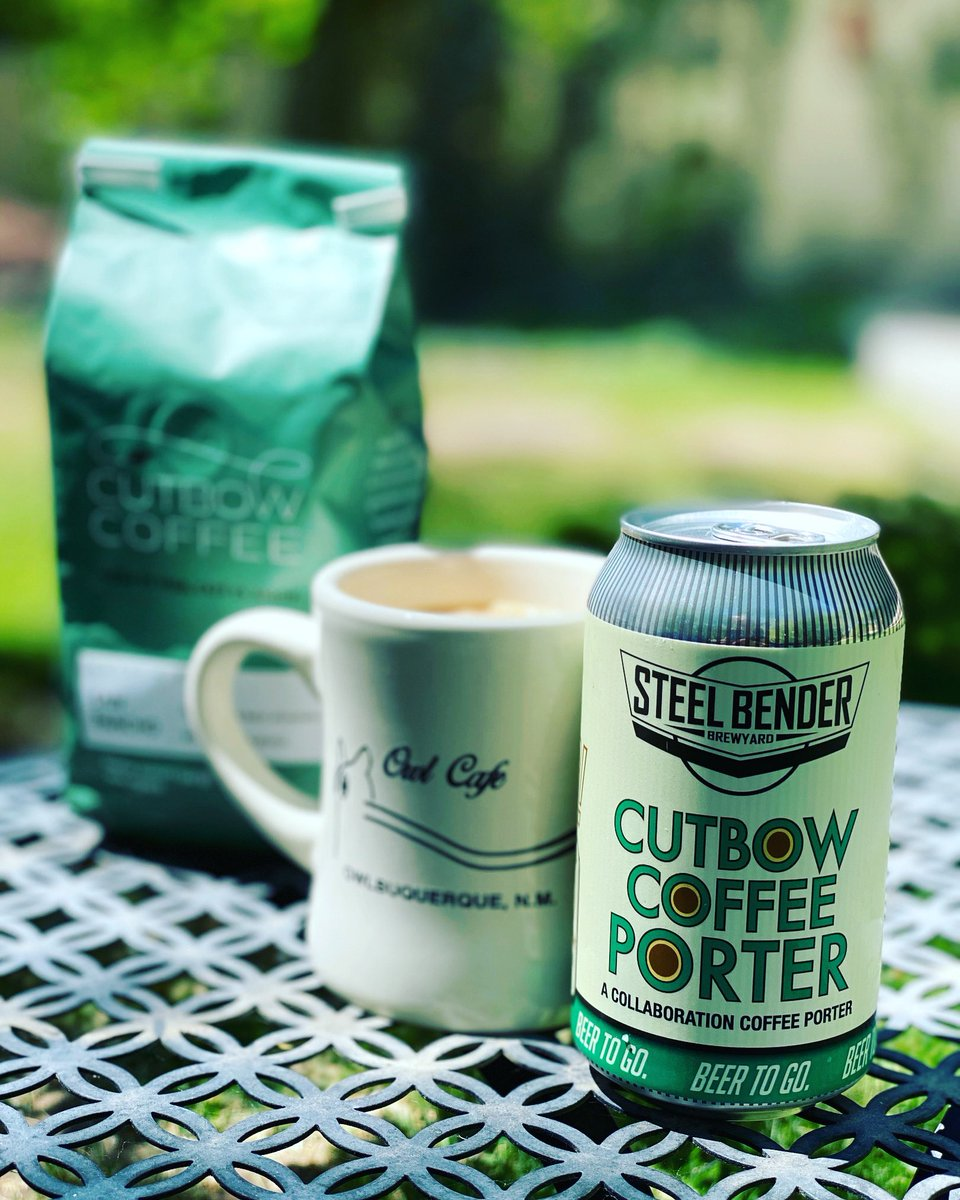 Coffee for breakfast. Coffee for happy hour. ⁠Cutbow Coffee Porter #collaBEERation with @CutbowCoffee available in 12-oz 6-packs. Order on our website for contactless payment 11:30 a.m. until 7 p.m. daily!⁠ #builttobrew #supportlocal #staystrongNM  #NMBeerLove ⁠⠀ https://t.co/nh8qKhzSPR