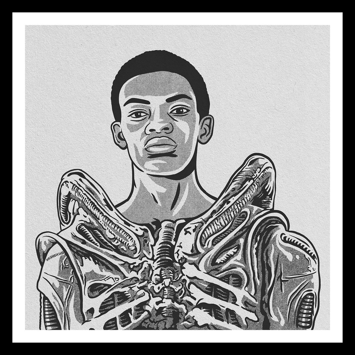 'Bolaji Badejo' … the lad who played The Alien in 'Alien' … Soundtrack: 'Loving The Alien' by Dave Bowie @procreate #procreate #illustration #drawing #painting #ink #ipad #apple #art #fineart #digitalart #popart  #Lagos #Nigeria #actor #ridleyscott #BolajiBadejo @ridleyscottcgpic.twitter.com/iYAysxmzAr