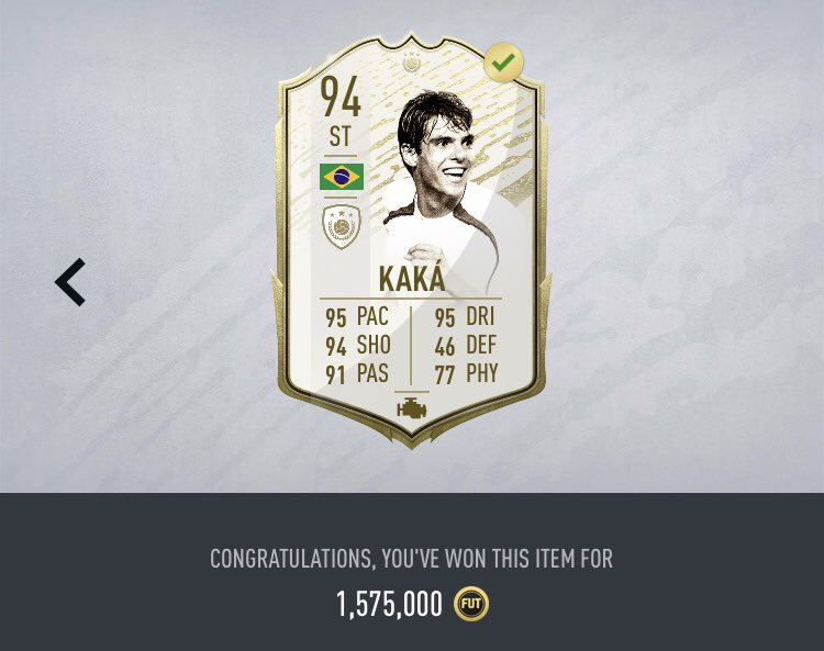 Double Moments Giveaway!!  Kaka and Matthaus 😱  To enter:   Retweet ✅   Follow @Piquelme20 ✅   TWO separate winners will be drawn on June 6th   *Will be listing for snipe* (Min 340k needed)  #FIFA20 https://t.co/aOa6Y6WHmx
