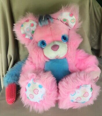 Brush A Loves Tyco 1987 Plush Stuffed Animal Vintage 80s Pink Bear hard to find http://dlvr.it/RY3b4Hpic.twitter.com/N18d3pKI1P