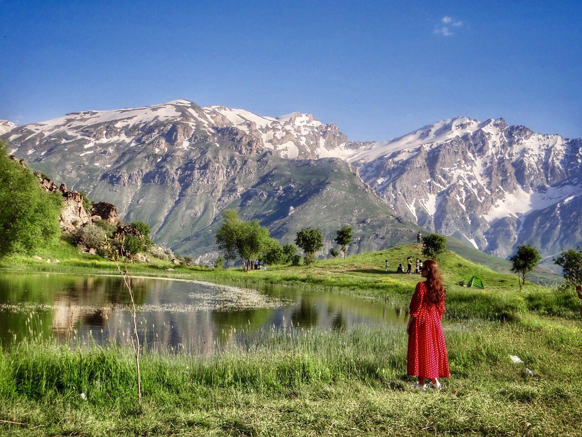 Happy #WorldEnvironmentDay ! The Environment - whether it be the trees, the soil, the seas - it makes up the Key to all of Life in this earth. Without it, we all cease to exist. Ph CR Nazo Hawezy #Erbil #VisitErbil #FelawLake later #Choman #KurdistanNature #Kurdistan