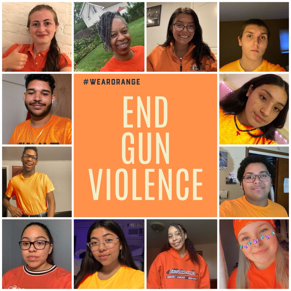 Today, my team and I #WearOrange along with some good friends from Copiague High School to honor the victims and survivors of gun violence in our nation. As an educator, I know how important it is that our students feel safe both at home and in school. We must #EndGunViolence