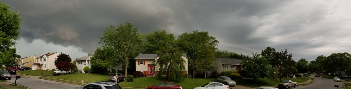 Quick panoramic of the sky conditions