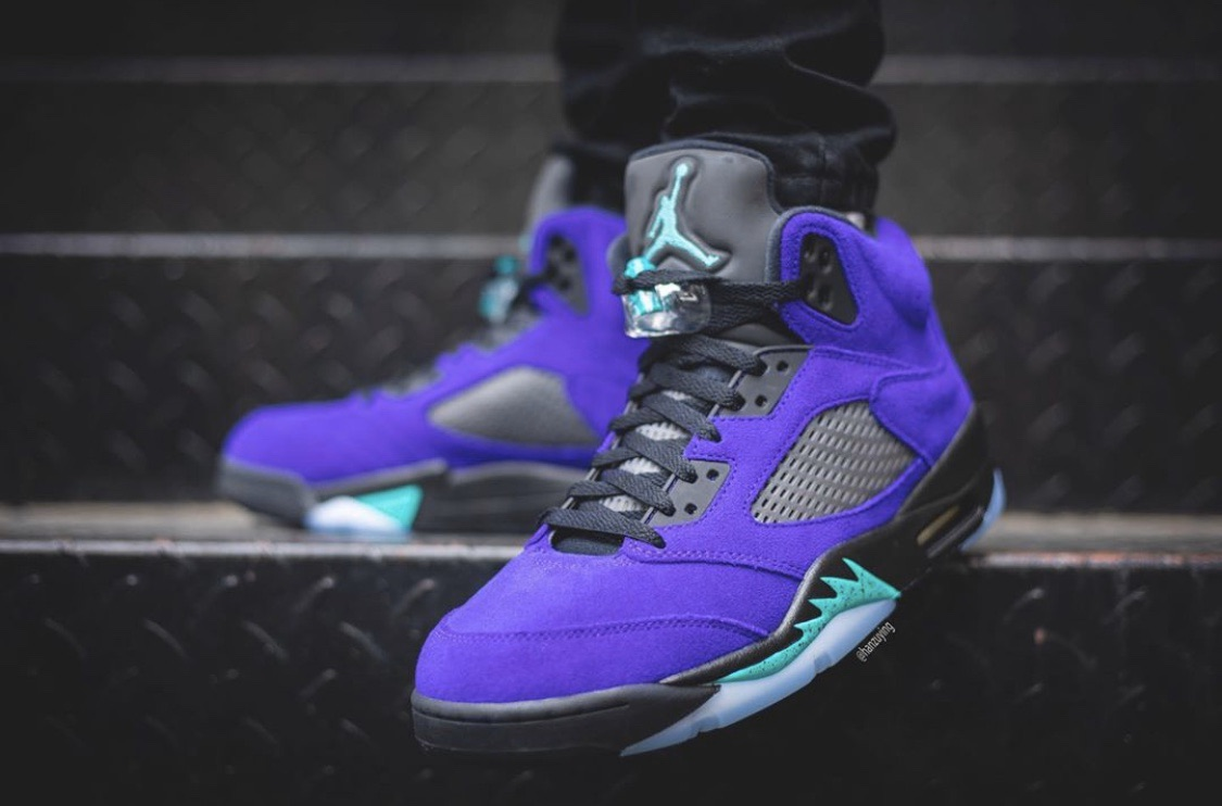 Release Date: Air Jordan 5 'Alternate Grape' - July 7, 2020 |$190| #SneakerScouts https://www.sneakerscouts.com/release-date-air-jordan-5-alternate-grape/ …pic.twitter.com/vrpcgw0M6M