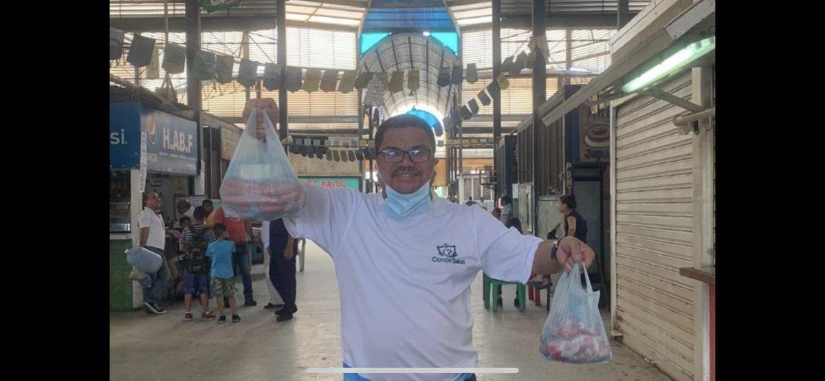 Haciendo compras en el mercado de tronconal,Barcelona🇻🇪☝️🇻🇪 https://t.co/I84XYIOJop