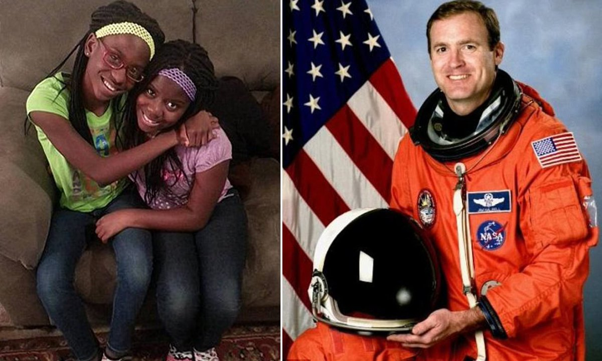 It's 4 years tomorrow that Astronaut Jim Halsell killed Jayla and Niomi James in his 2nd DUI without conviction. His lawyers have pushed the trial repeatedly to minimize media attention, don't let them. Their parents Parnell and Latrice deserve justice. #justiceforjaylaandniomi https://t.co/Gp1tftO6jW