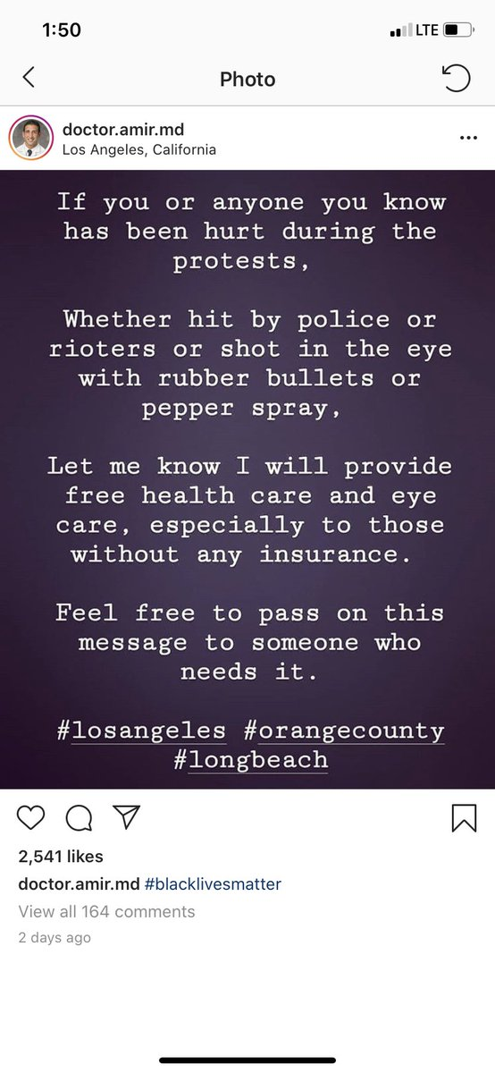 @halsey Some doctors are offering free healthcare for people who have been injured in the protests. Please share this🖤