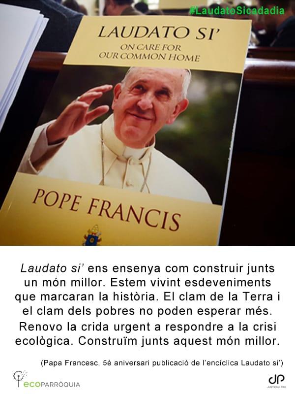 Laudato si' ogni giorno @catreligio #LaudatoSi5 #LaudatoSiweek https://t.co/6rSOmhhQsz https://t.co/cHpmTcp00G