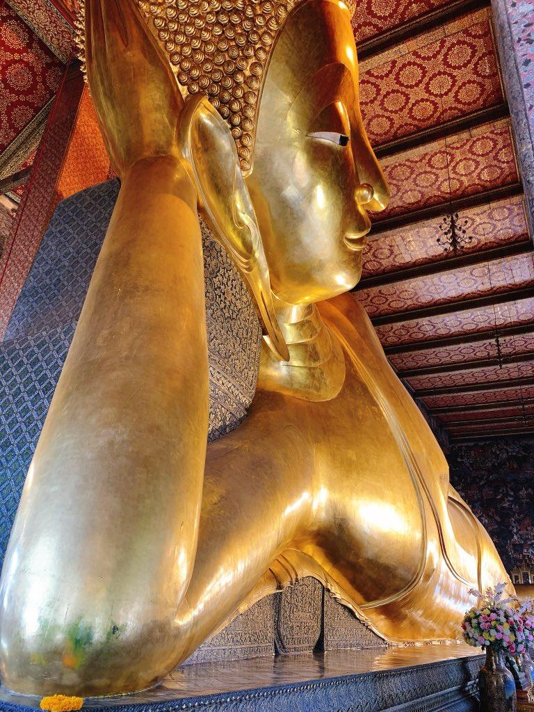 test ツイッターメディア - #watpho 巨大な涅槃仏の寺院「ワット・ポー」。何時行ってもその大きさに驚かされる。少し前に行った時はコロナの影響か人がとても少なくて見やすかった。 (*≧∀≦*) #ワットポー #タイ好きと繋がりたい #タイ好きの人と繋がりたい #コロナに負けるな #amazingthailand https://t.co/hnWxYGycdV