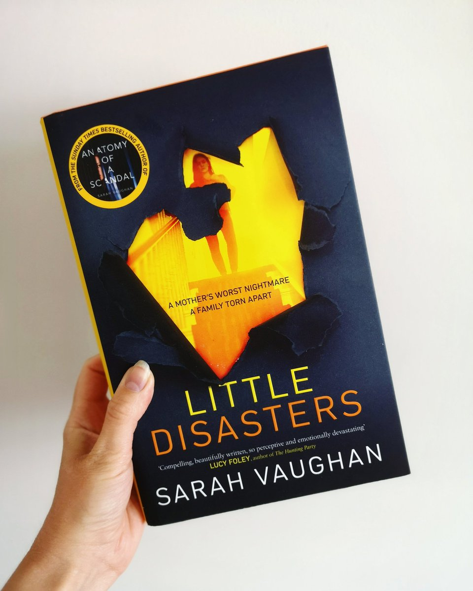 Its Friday, which can only mean one thing... its #GIVEAWAY time! This week were giving away a copy of #LittleDisasters, the compelling & thought-provoking new novel from @SVaughanAuthor - author of the Sunday Times bestseller #AnatomyOfaScandal. Entry criteria below ⬇️