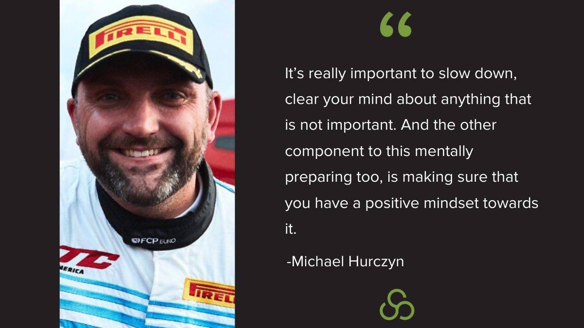 Check out this clip where Race Car Driver, Michael Hurczyn, explains his preparation process & learn some tips that you can use: https://bit.ly/2Xi0zKm  via @icarolemahoney of @unboundgrowthpic.twitter.com/N7QiBsqIbG
