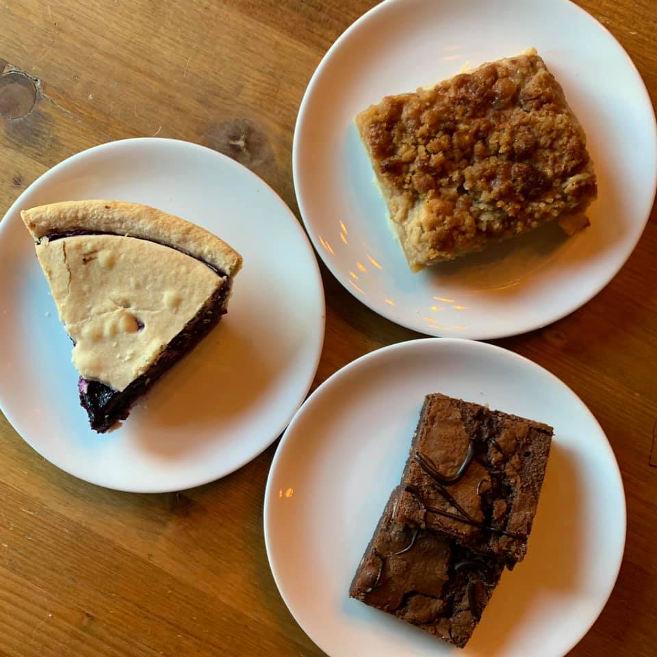 Reward your sweet tooth today by adding a little something off of our dessert menu to your takeout order! We have Stone Crock pies, squares and more!  Oh, and ice cream for this hot, sunny day! #kwawesome #explorewr #waterlooregion #uptownwaterloo #foodiepic.twitter.com/K7DjBhH3LF