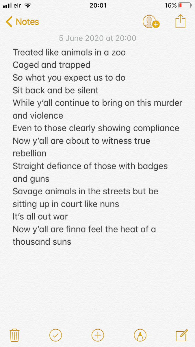 #rap #hiphop #realrap #realhiphop #fire #music #new #rhymes #lyrics #song #writer #ghostwriter #songwriter #freestyle #verses #100 #raw #fresh #real #realtalk #realshit #rapmusicwithamessage #rapmusic #label #studio #treatedlikeanimals #inazoo #caged #trapped #truerebellionpic.twitter.com/WC9yUJOyvq
