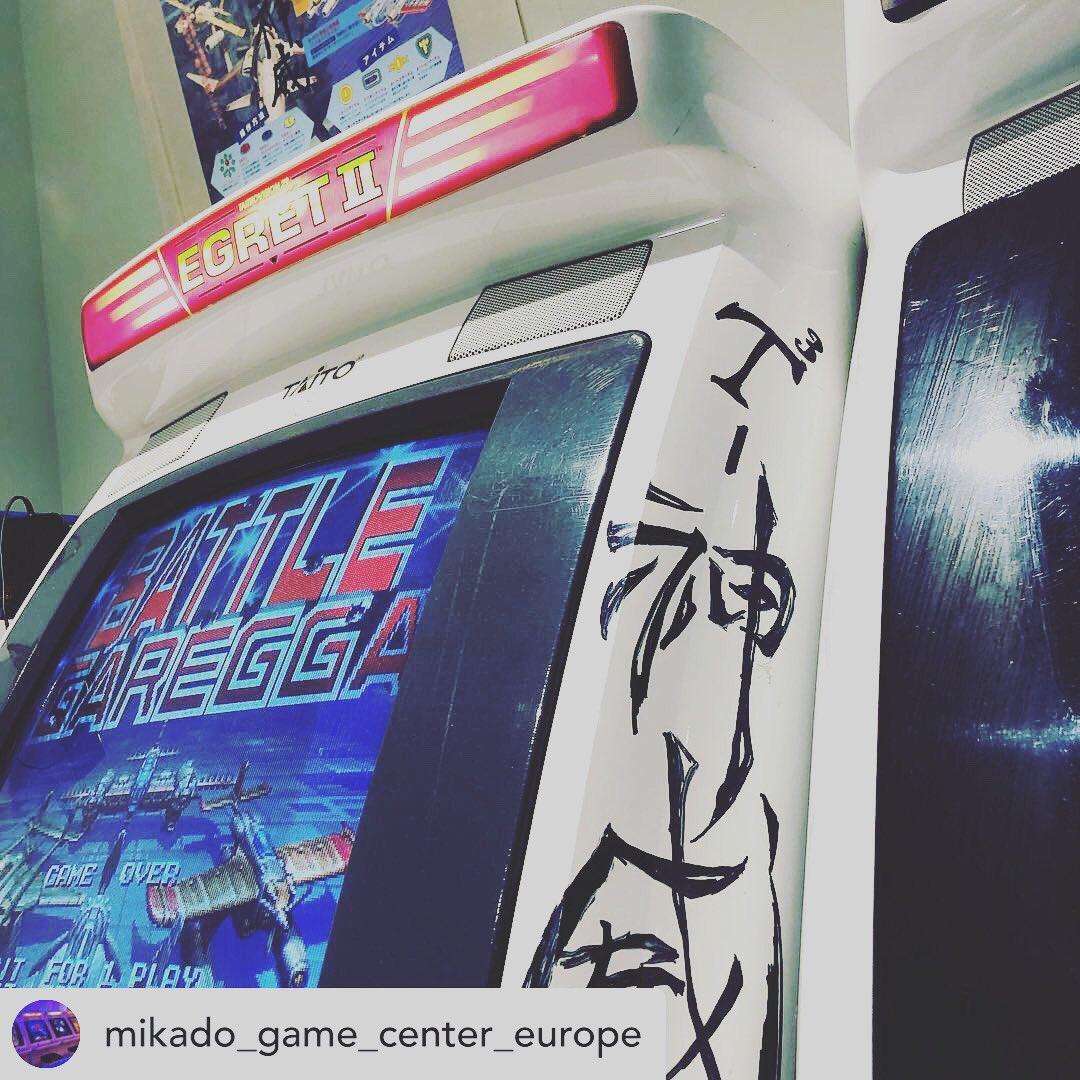 Can't get much more awesome than this. #arcade #mancave #tokyo #gamer #retrogamer #retrogamer_japan #taito #sega #SEGA60thpic.twitter.com/3OhYg6qgK0