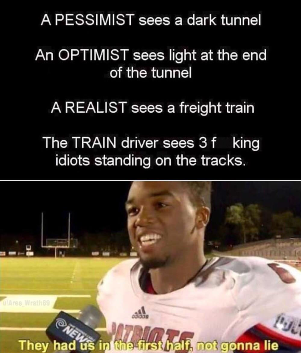 Thomas had never seen such idiots. #dankmemes pic.twitter.com/tvrcJrNyem