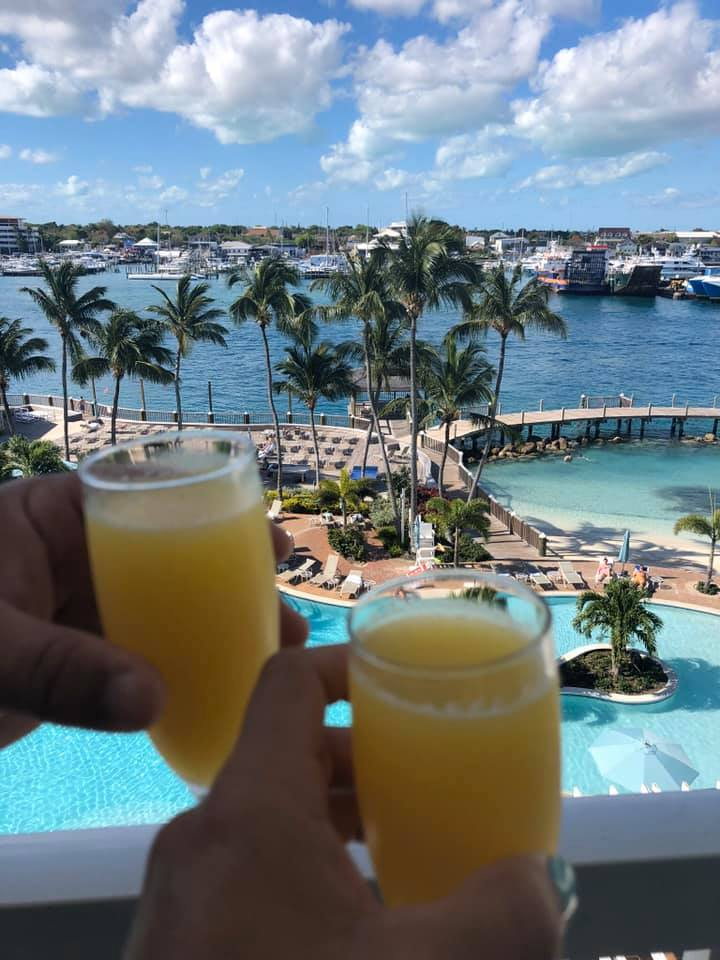 """Always a cheer for our annual vacation! We love the Warwick!""  Thank you Chris and Ronda T. for sharing your #WarwickDayDream and for choosing Warwick Paradise Island for your annual vacation! Cheers!  #TGIF #WarwickParadiseIsland #WarwickHotels #Bahamas https://t.co/7DcDJ5uov2"