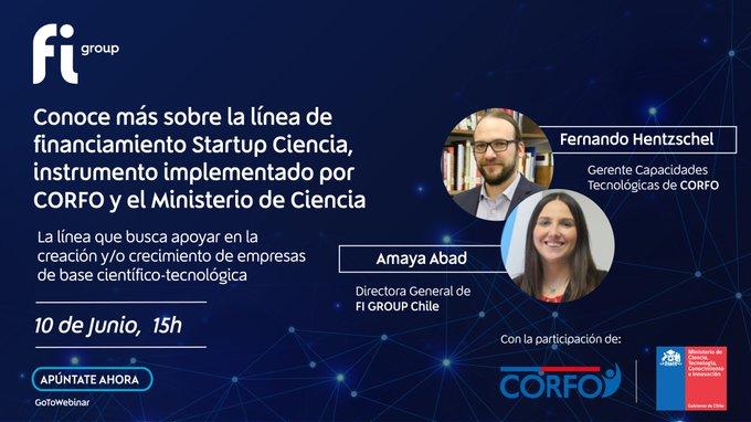 📢Conoce más sobre la nueva línea de financiamiento Startup Ciencia, instrumento implementad....