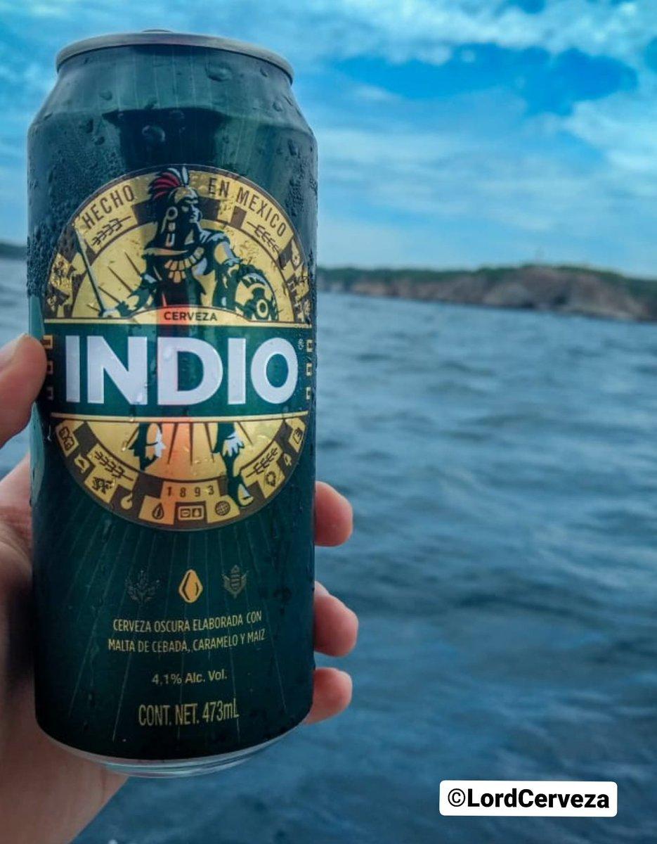 Hoy les compartimos la cerveza que no puede faltar en la peda.  🍺 Indio 🏷 Oscura 🥴 4.1% Alc. Vol. 💧 473ml 📍 Monterrey, Mex. 💸 $18 mnx. c/u aprox. ©LordCerveza . . #beer #cerveza #cervezamexicana #indio #cervecería #monterrey #LordCerveza https://t.co/JRBnVWhUgp