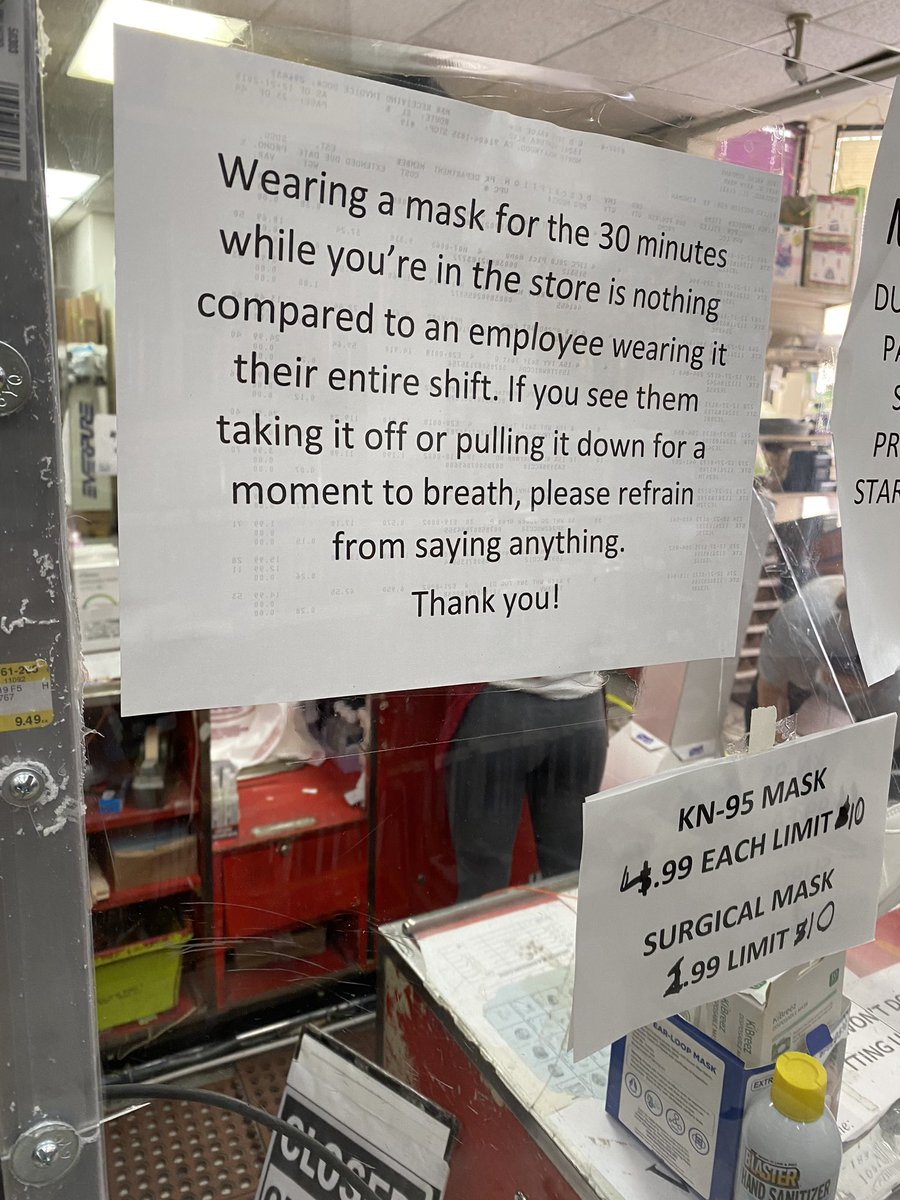 Sign at the register at a local store So so true and every store should have this lmfao https://t.co/4lkaw8Q5hy