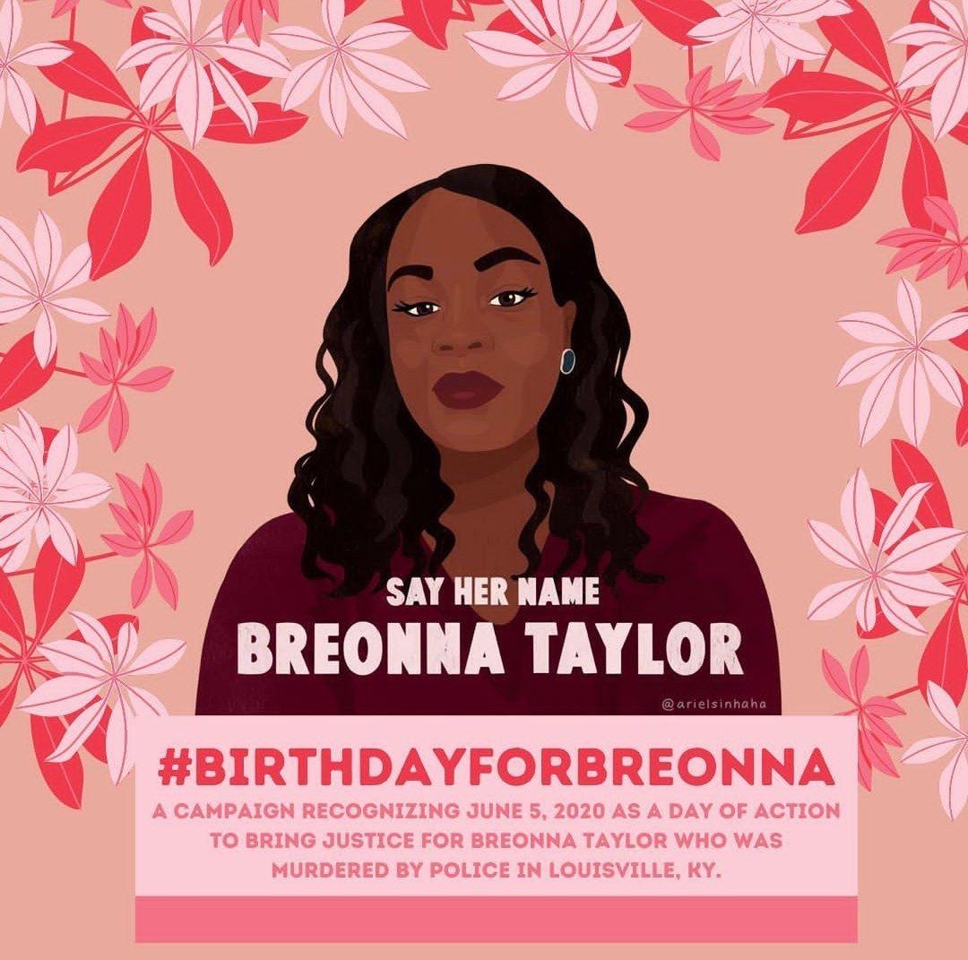 Never forget. ❤ #BirthdayForBreonna https://t.co/9M4VF6aOTB