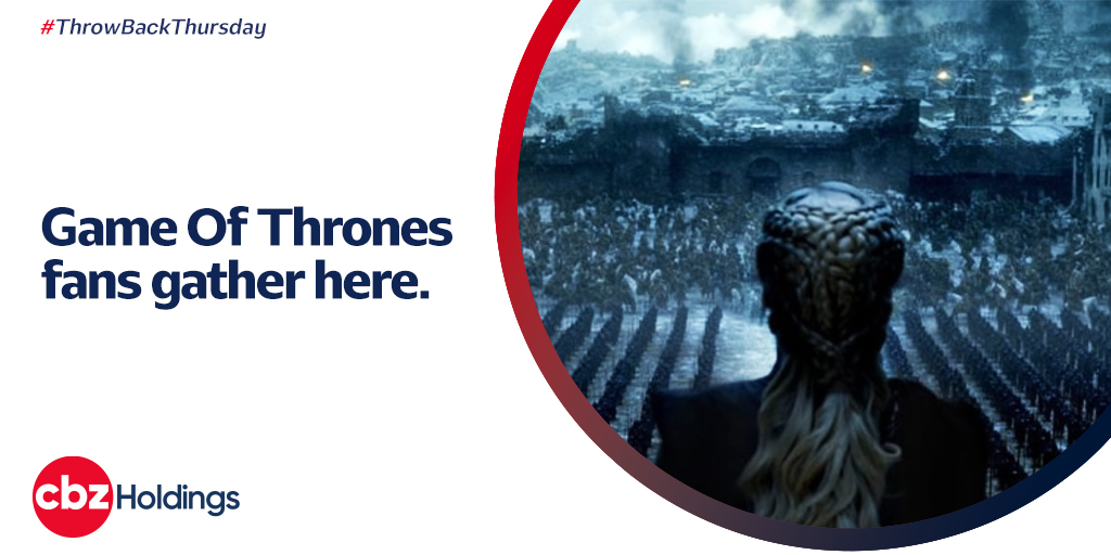 #GOT fans gather here! #WinterIsHere and we can only reminisce the adventure and adrenaline rush we had with #GameOfThrones. Comment with your favourite character and the best scene about the series.   #GameOfThrones #CBZCares  @263Chat @NewsDayZimbabwe  @DailyNewsZim https://t.co/SpFh878c6c
