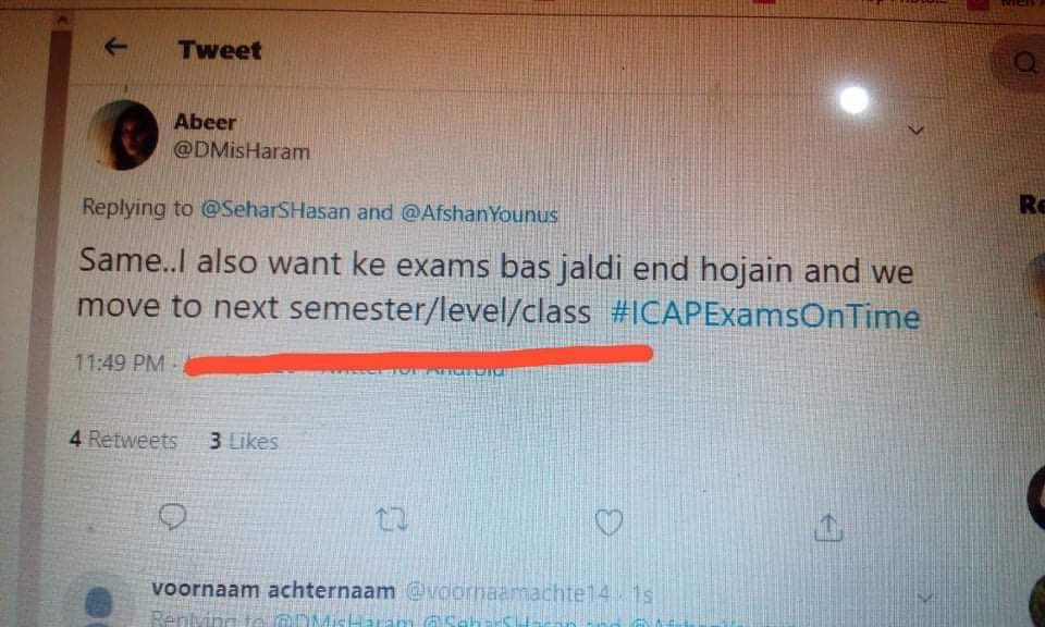 You had one job   #HumanityOverExamsICAP  #StopICAPExams pic.twitter.com/ckCoI4iQdd