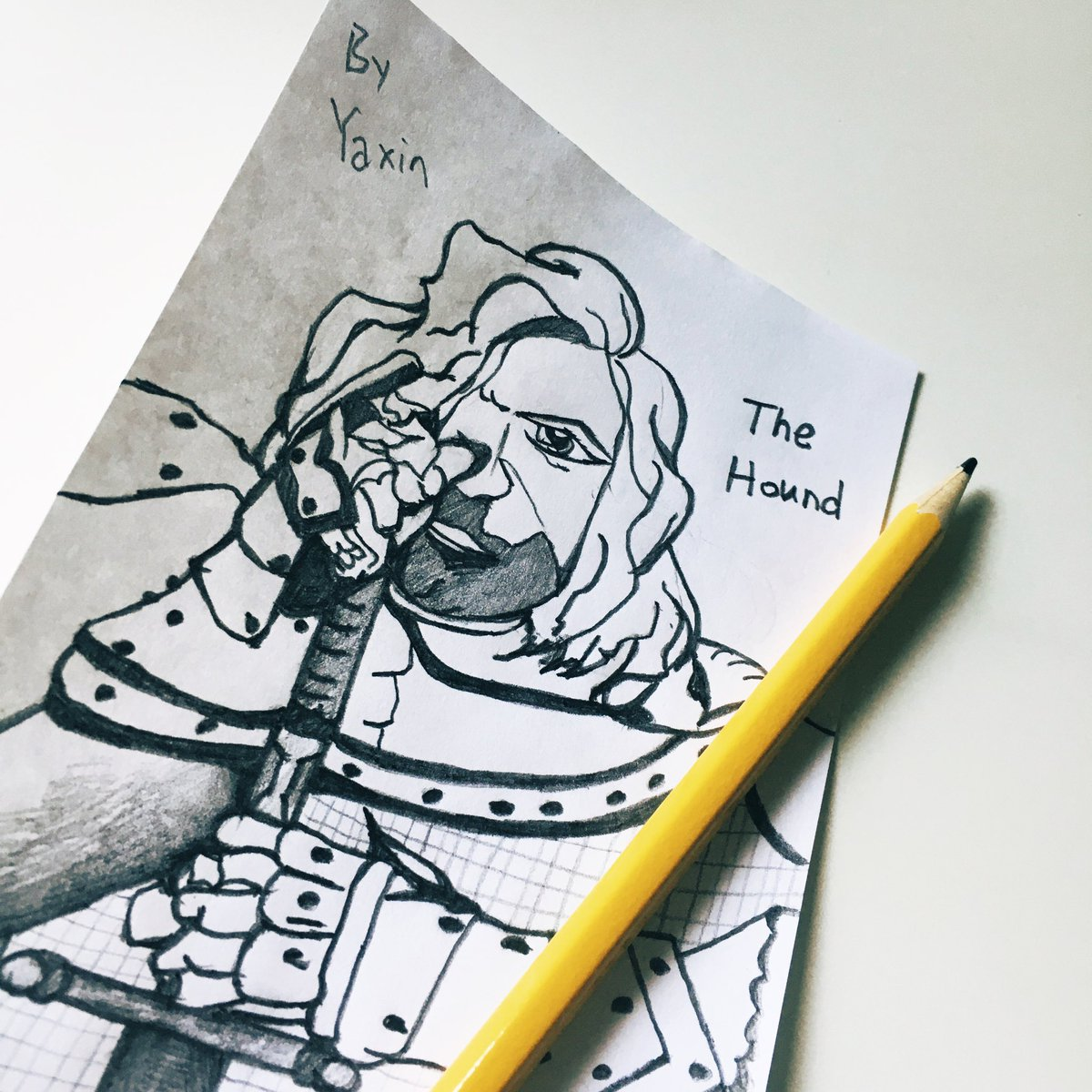 #GoT #thehound People think he's a support, he's actually an ADC. ✨🥱 https://t.co/uuDnTFvj0Z