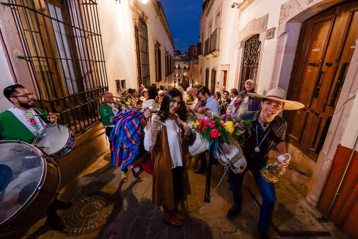 Nadie puede haber dicho que visitó Zacatecas sin haber presenciado una callejoneada.