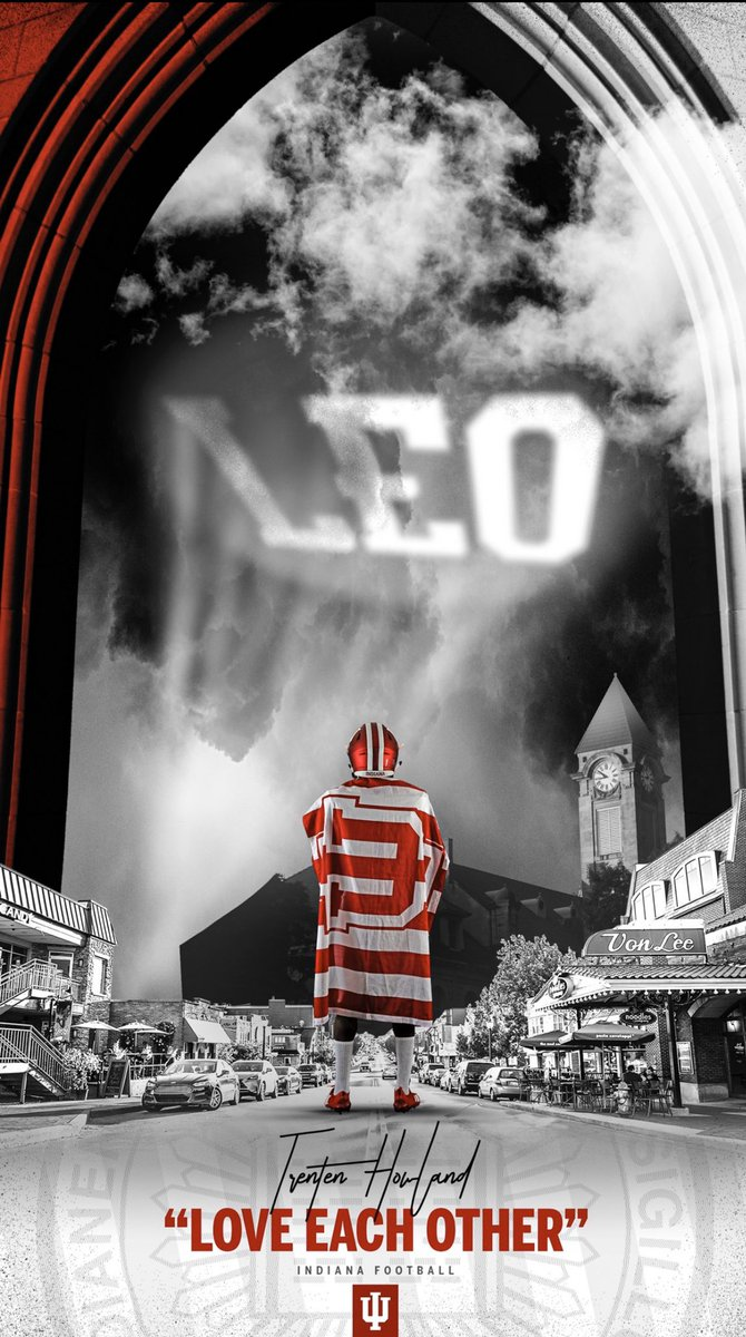 What's good Indy fans ill see you soon down In Bloomington. Thankyou for welcoming me! Let's do this! 🙏🏽❤️🤍#leo #indianafootball https://t.co/F0wH6sMR5q