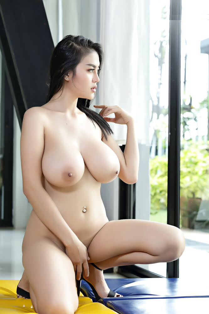 Loni Is A Cute Asian With Huge Natural