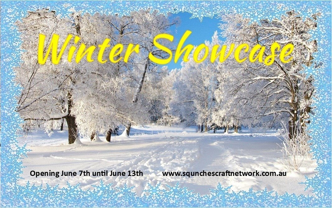 Winter Showcase opening on June 7th 11 #handmade #businesses Over 30 handmade items #winter #showcase #jewellery #yarn #knitted #crochet #earrings #necklaces #shawl #beanie #blanket #scarf #dolls #Embroidery #HomeDecor