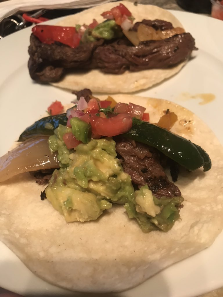 Hey all stars! What's you're favorite food? Mine is Mexican, so I went a got some fajitas for dinner 😋🤤 <a target='_blank' href='http://search.twitter.com/search?q=HFBTogether'><a target='_blank' href='https://twitter.com/hashtag/HFBTogether?src=hash'>#HFBTogether</a></a> <a target='_blank' href='http://search.twitter.com/search?q=HFBTweets'><a target='_blank' href='https://twitter.com/hashtag/HFBTweets?src=hash'>#HFBTweets</a></a> <a target='_blank' href='https://t.co/10fpH2LcOL'>https://t.co/10fpH2LcOL</a>