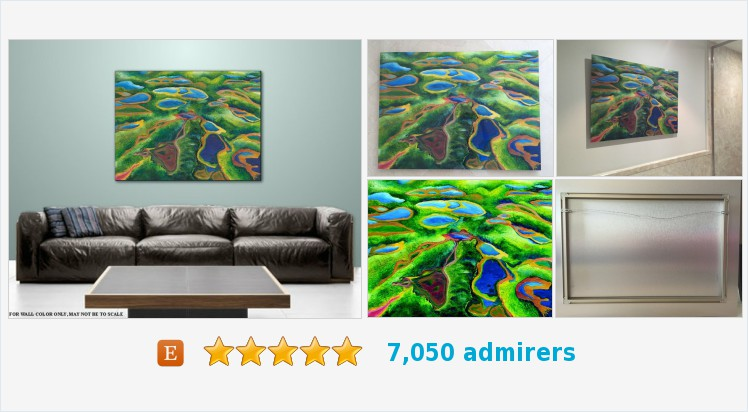 #HomeDecor #Contemporary #landscape Blue Green #Abstract #expressionism Art on Plexiglass Title: Field of Lakes  https://www.etsy.com/NickySpauldingArt/listing/479515681/art-home-decor-contemporary-landscape?ref=shop_home_active_5…pic.twitter.com/J7L6L09v8z