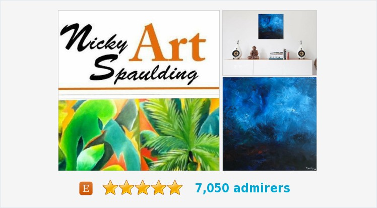 Oil Painting #Contemporary Home Decor #Abstract #Impressionism Modern Blue Canvas Title: ONE STORMY NIGHT  https://www.etsy.com/NickySpauldingArt/listing/689305619/art-wall-art-original-oil-painting?ref=shop_home_active_1…pic.twitter.com/GnTZJL6DYn