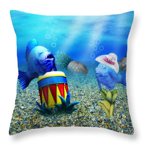 **Tropical Vacation Under The Sea Throw Pillow By #Gravityx9 *  This design is available on a variety of tote bags, home decor, coffee mugs, beach towels and more! *   http://ow.ly/zMEL30qGRJdpic.twitter.com/cL7IdGVNa0