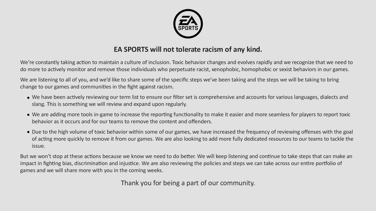 EA SPORTS (@EASPORTS) on Twitter photo 05/06/2020 23:25:19