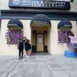 Image for the Tweet beginning: Waller Jewelers is the oldest