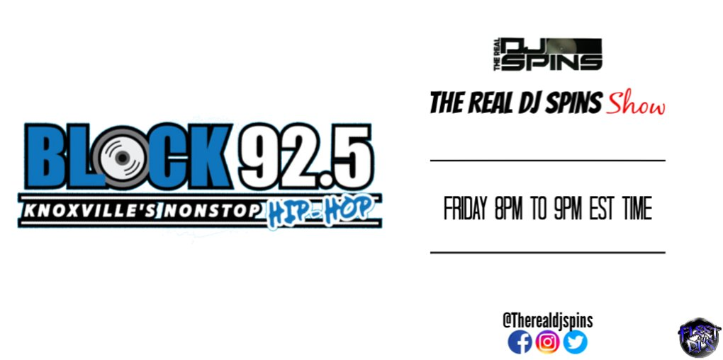 Check Out My Show Right Now On @925theblockknox (Knoxvilles 92.5 The Block) From 8pm To 9pm Est Time Featuring The Spins Monster Mix Tune In #HipHopMusic #Radio #Dj #Knoxville #BrandNew #Tunein  Click Here: https://t.co/l3FNnJbsIM https://t.co/eRM2CFvpbZ