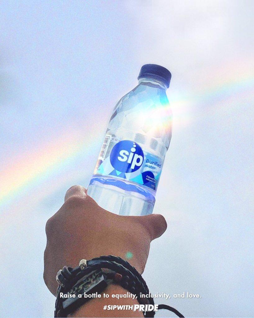 Let the rainbow shine through 🌈✨  #SipWithPride #SipKaMuna https://t.co/Yv3CuQLHf4